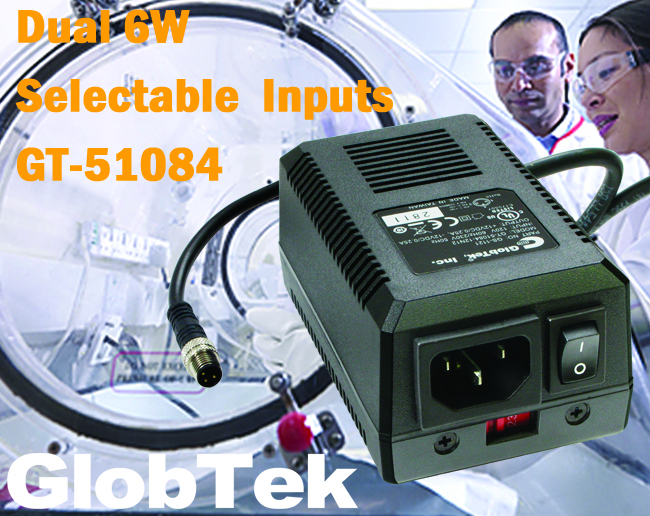 Providing a solution for instrumentation and other sensitive applications, the GT-51084-12N12 linear power supply from GlobTek delivers an output of ±12Vdc at 0.25 A with very low noise. Features of the...